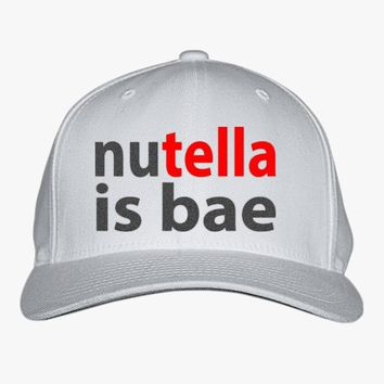 Nutella Is Bae Embroidered Baseball Cap