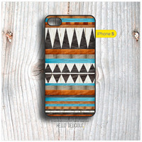 iPhone 5 case Aztec Navajo Geometric Style Pattern I27