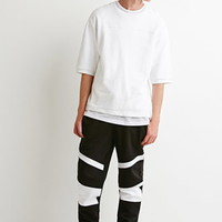 Contrast-Paneled Sweatpants