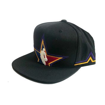 Mitchell & Ness NBA All Star Collection Cropped Western Snapback Cap