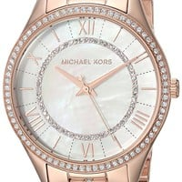 Michael Kors Watches Lauryn Three-Hand Watch