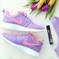 """NIKE"" Trending Fashion Casual Sports Shoes Purple"