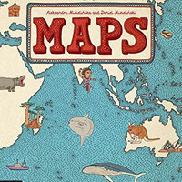 Maps Oversized Book