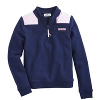 Girls Oxford Stripe Shep Shirt