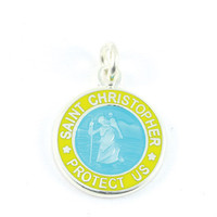 Get Back Supply Co — Anklet & Bracelet Small Charm (Aqua-Yellow)