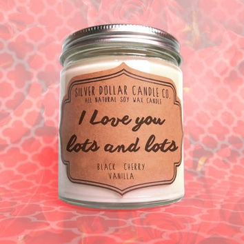 Valentines Day Gift, I Love You Candle, Valentine's gift, Scented Candles, personalized valentines gift, gift for him, girlfriend gift, love