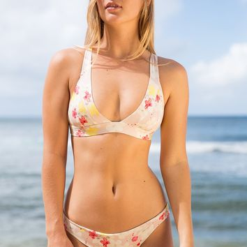 ACACIA Swimwear 2019 Bolong Top in Cherry Blossom