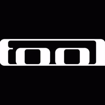 Tool Band Rock Car Truck Laptop Window Decal Sticker White