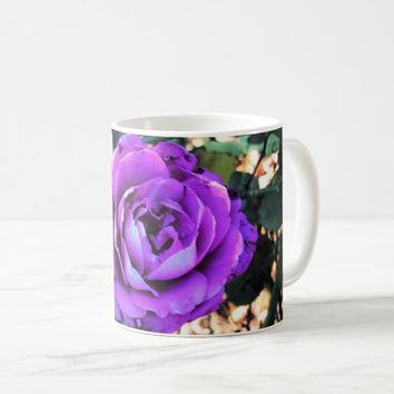Purple Rose at Sunset Coffee Mug