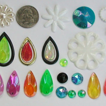 Enid Collins Authentic Replacement Beads, 30 Pieces, New-Old Stock