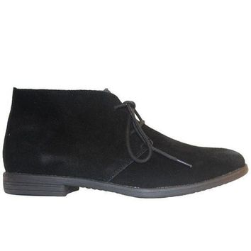 Chelsea Crew Junior   Black Suede Desert Boot