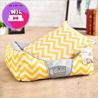 Oxford waves stripe for cat house bed dog beds for large dogs Kennel Soft Pet Cat Mat Cushion Mat All Seasons Pet Bed