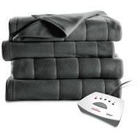Sunbeam Electric Heated Fleece Blanket - Walmart.com