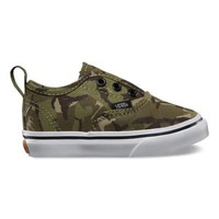 Vans Toddlers Camo Authentic V (olive/true white)