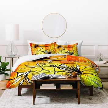 Sophia Buddenhagen Tropical Splash Duvet Cover