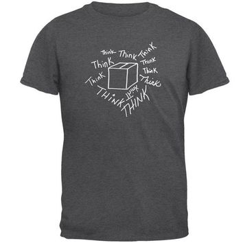DCCKU3R Think Outside the Box Mens T Shirt