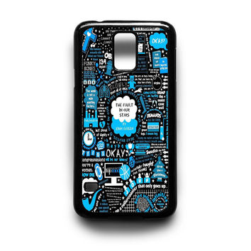 The Fault in Our Stars 1 Samsung S5 S4 S3 Case By xavanza