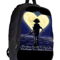 Walt Disney Kingdom Hearts Quotes e087dbfe-0600-4c81-b64d-466847e71e92 for Backpack / Custom Bag / School Bag / Children Bag / Custom School Bag *02*