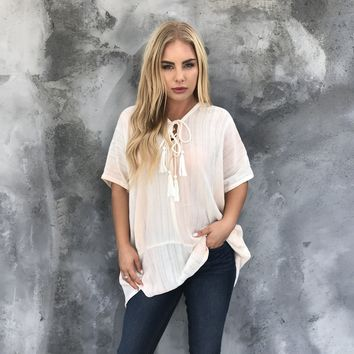 All Or Nothing Oversize Top