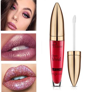 Pudaier  Liquid Lip Gloss Glitter