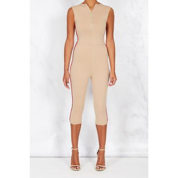 Baziic Sand Dune Scuba Jumpsuit HOT!MESS Fashion UK