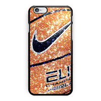 Nike Basketball Ball Glitter iPhone 6 Plus Case