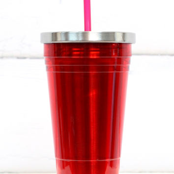 OGGI: Red Tumbler {16 oz}