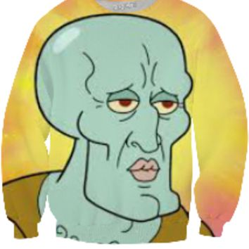 Handsome Squidward sweater