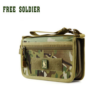 Tactical Military Handybag Wallet Card ID Holder Phone Cases Free Soldier
