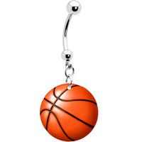 Basketball Belly Ring | Body Candy Body Jewelry