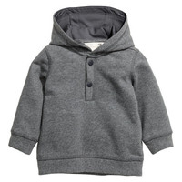 H&M Cotton Hooded Sweatshirt $12.99