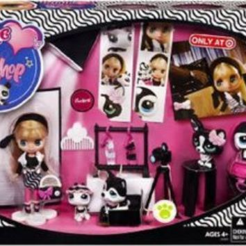 Littlest Pet Shop Blythes Black White Collection Exclusive Playset Fashion Shoot