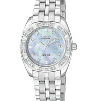 Citizen Ladies Paladion - 26 Diamonds - Mother of Pearl Dial - Stainless Steel