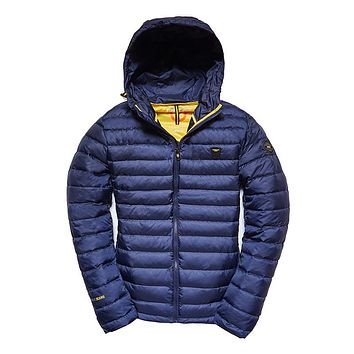 Men Hooded Jacket Fashion Spring Winter Cotton Padded Jackets Solid Color Casual Parka Male Puffy Coat with Hoody