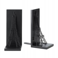 Unique Eiffel Tower Bookends Home Library Decor