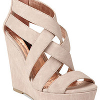 Material Girl Axel Platform Wedge Sandals