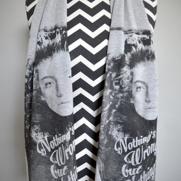 LORDE Unisex Knit Scarf (One Size)