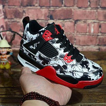 "Air Jordan 4 Print ""Tattoo"" Kid Shoes - Best Deal Online"