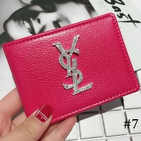 YSL Yves Saint Laurent 2018 new men and women leather case clip F0757-1 #7