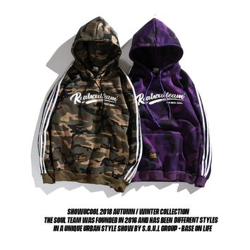 Hats Hoodies Camouflage Couple Jacket [1573979291741]