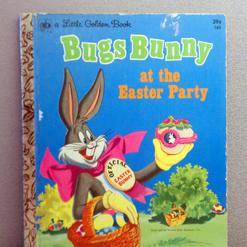 Bugs Bunny at the Easter Party Little Golden Book