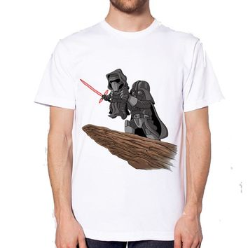Star Wars Force Episode 1 2 3 4 5 hot Summer Fashion  king T Shirt Men's High Quality Tops Tees Custom male t-shirt Printed clothing AT_72_6