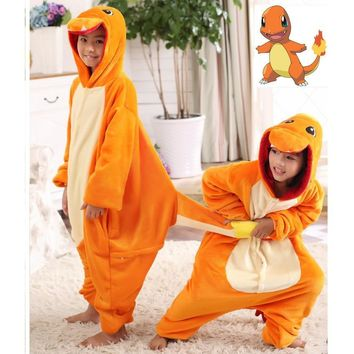 Japan Adult  Pikachu Kigurumis Cosplay Footed One Piece Pajamas Onesuit Costume Fleece Clothing Children's animal pajamasKawaii Pokemon go  AT_89_9