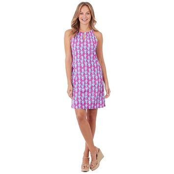 Lisa Dress - Pineapple Party Pink