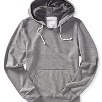 Aeropostale  Solid Pullover Hoodie - Black, X-Small