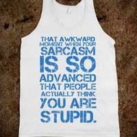 Sarcasm - Trendy Designs by Sofia