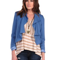 Costa Blanca Double Lapel Blazer