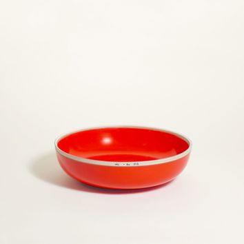 Hermit Bowl, Coral Red