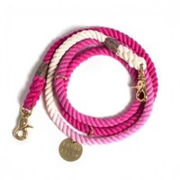 Found My Animal Nautical Rope Leash Magenta Ombre | Petswag