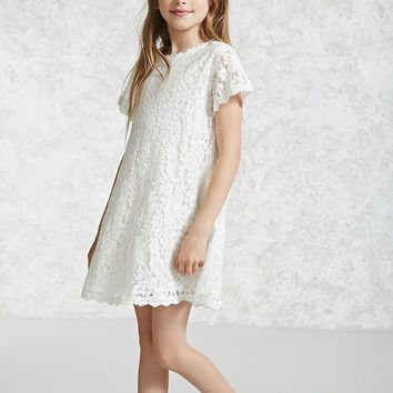 Girls Lace Swing Dress (Kids)